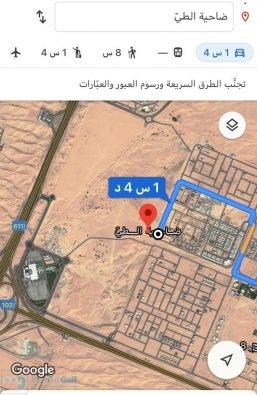 ارض الطي بالقرب من المسجد