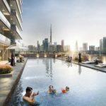 Elite Business Bay Pool Area 1